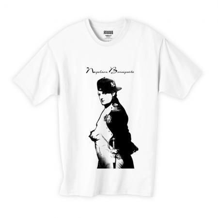NEW ERA ナポレオン・ボナパルトストリートアートTシャツ