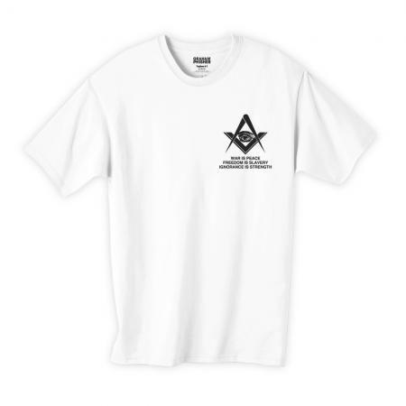 フリーメイソンデザインTシャツ