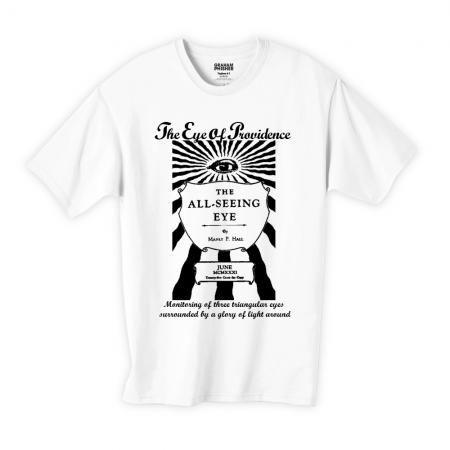 プロビデンスの目 フリーメイソンデザインTシャツ02