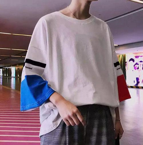 【売り切れ間近】ビックサイズパズルTシャツ 2カラー
