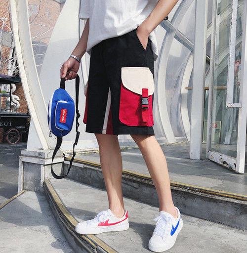 【HOT】ビックポケット ハーフパンツ 2カラー