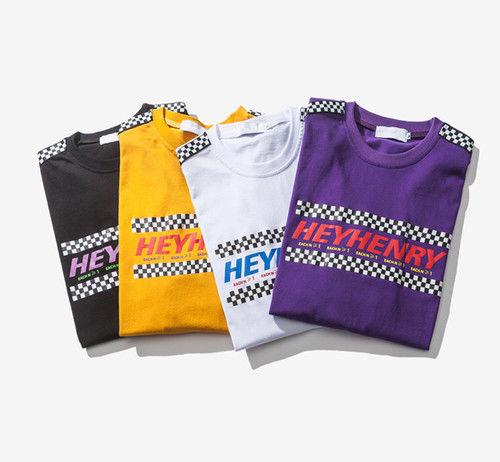 [トレンド]ボーダーラインTシャツ 4カラー