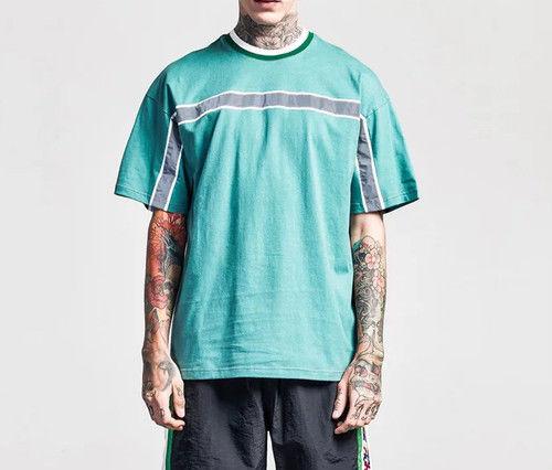 [大人気]ブルーラインデザインビックTEE 3カラー