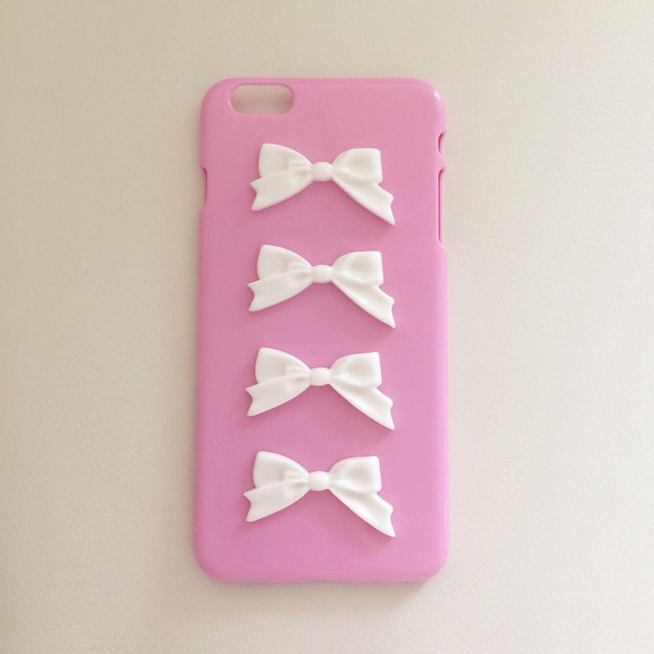エレガントリボンiPhoneケース(for iphone6プラス)