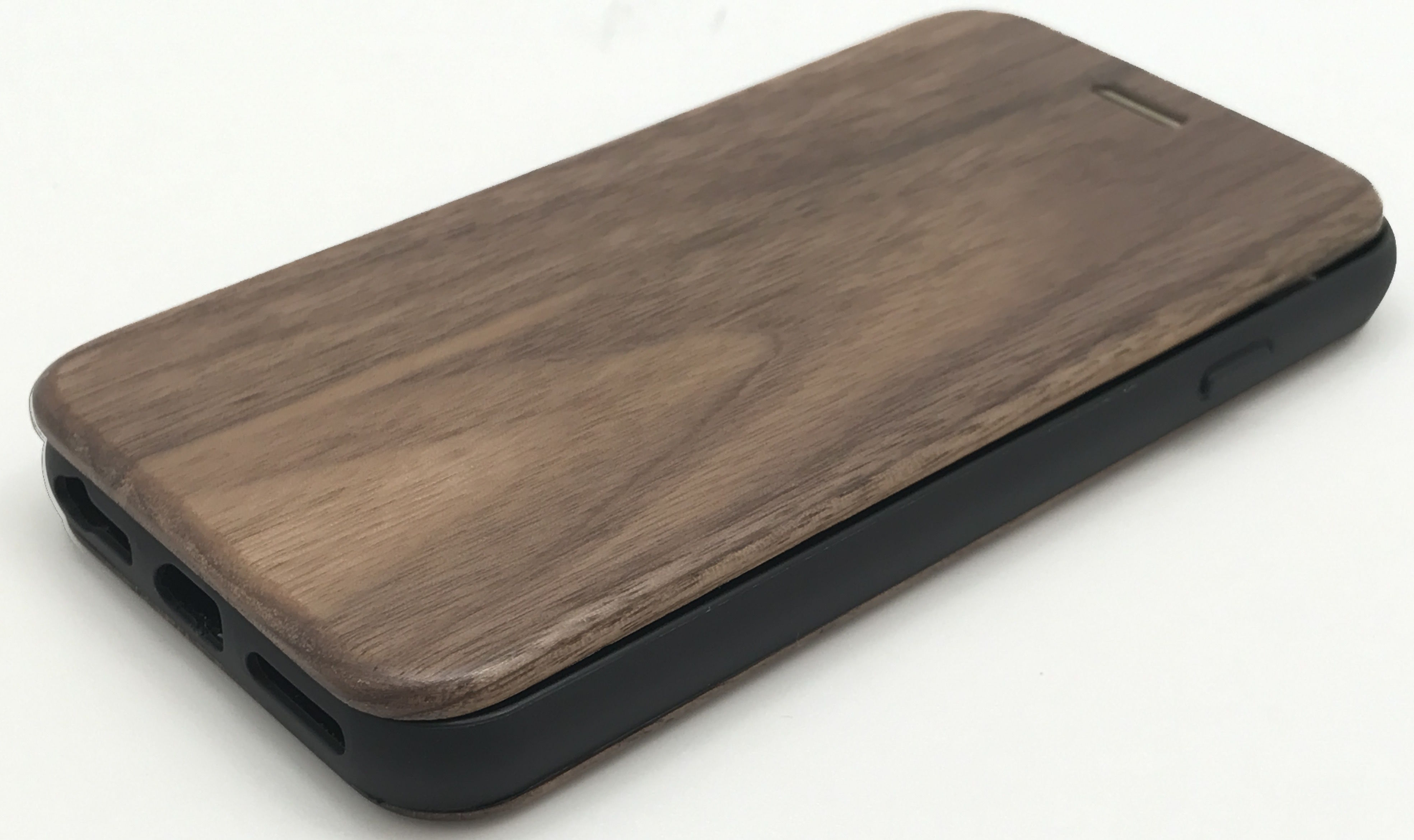Walnut Flip Case for iPhone 7