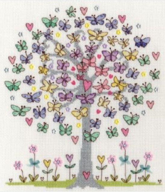 Love  Spring(日本語基本ガイド付き)Bothy Threads