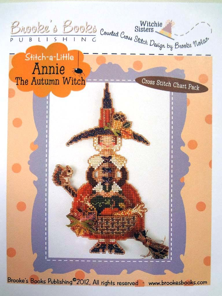 Brooke's Books クロスステッチチャートセット「Annie」