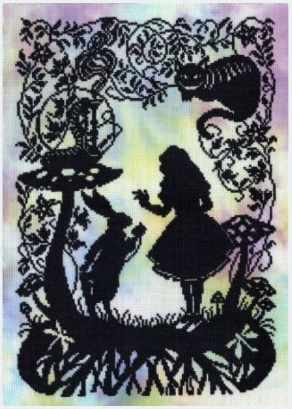 Alice  in  Wonderland(日本語基本ガイド付き)Bothy Threads