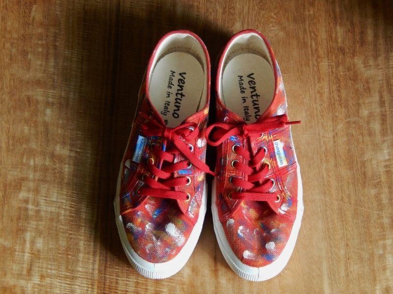 takuroh shirafuji Drawing Shoes  Size 36(23cm)