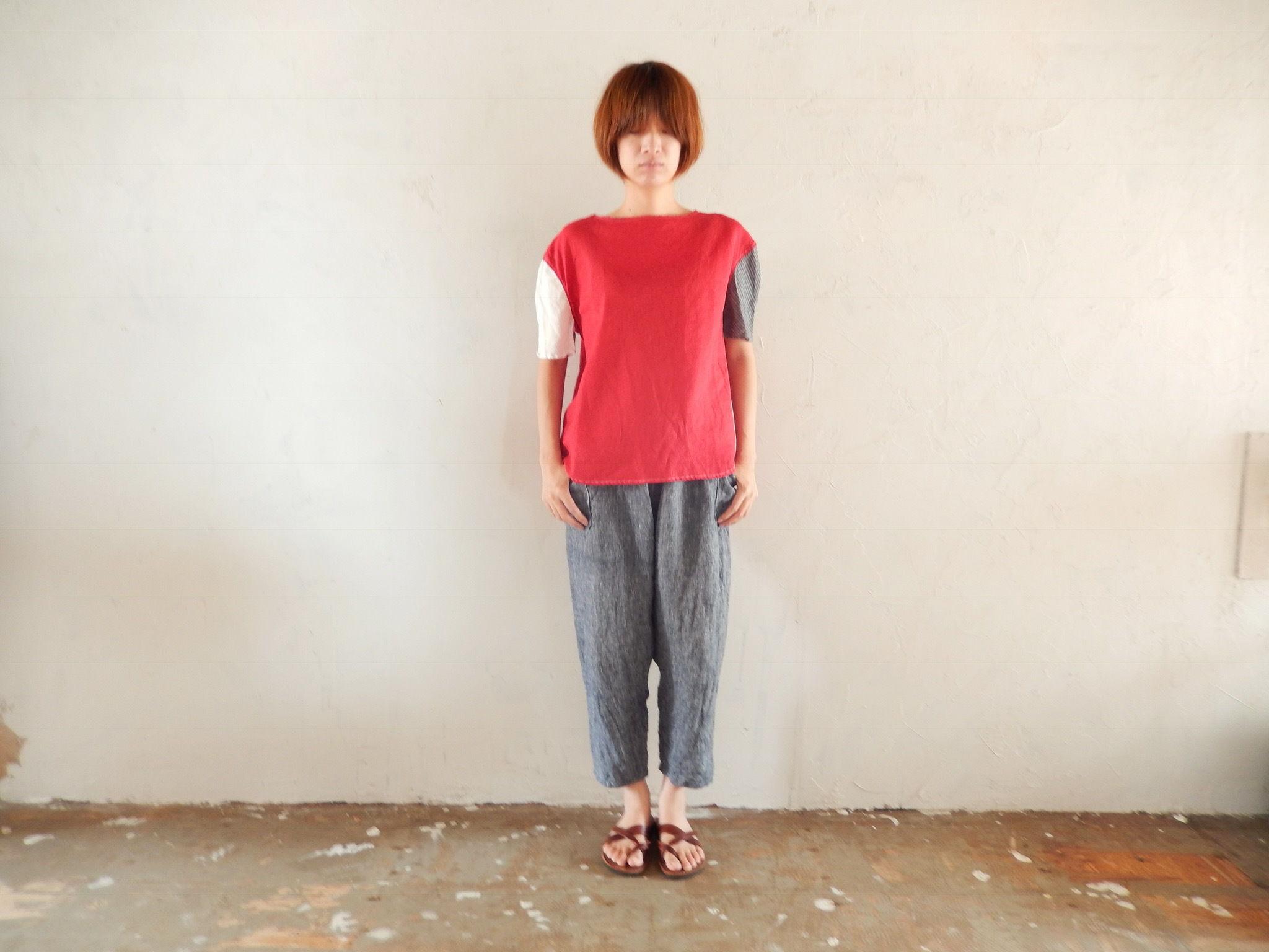 takuroh shirafuji Levain Languid 2nd [Tops : Linen : woman]