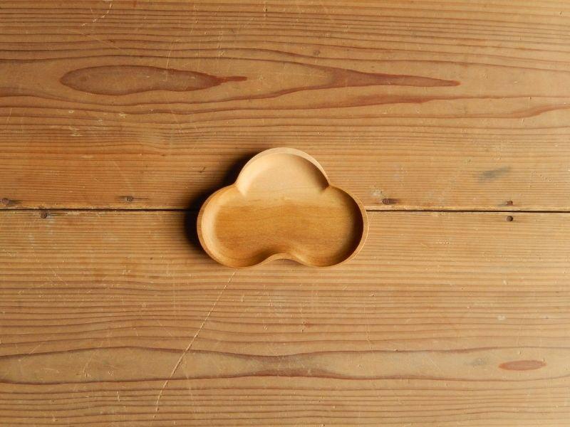四十沢木材工芸  桜小皿S   まつ