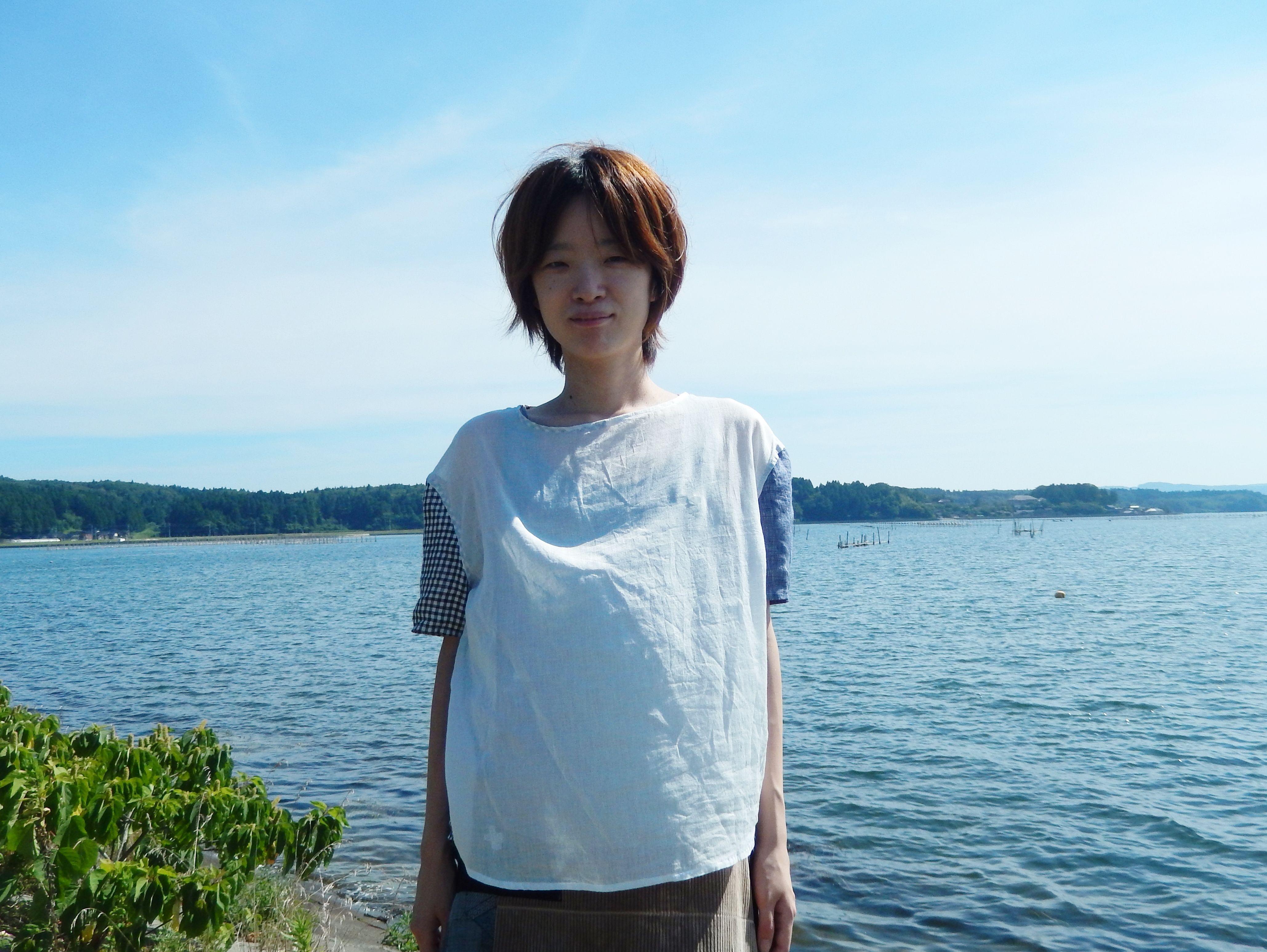 ヤマザキナホコ × takuroh shirafuji Levain Languid [Tops : Linen x Gauze ]ⅲ
