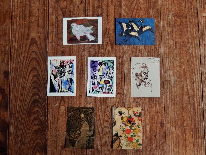 日本民藝館ポストカード/7枚セット