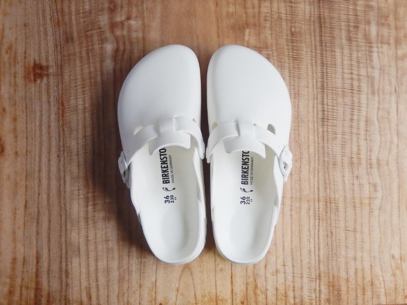 BIRKENSTOCK EVA [BOSTON:WHITE]