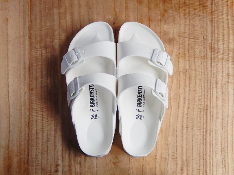 BIRKENSTOCK EVA [ARIZONA:WHITE]