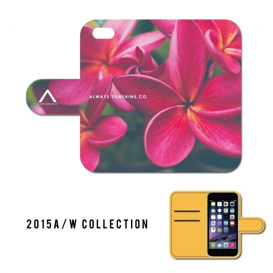 PLUMERIA / 手帳型ケース -2015 A/W Collection Always Sunshine.Co-