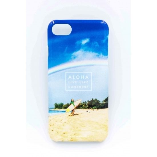 《ALOHA LIVE LIKE Collection》ハードケース-Double Rainbow In Northshore-