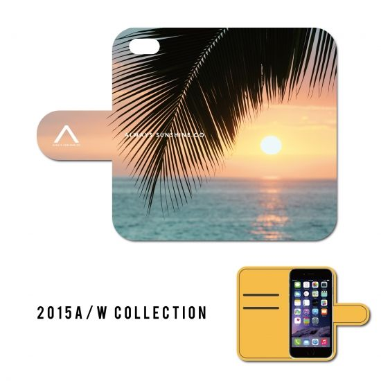 KONA SUNSET / 手帳型ケース -2015 A/W Collection Always Sunshine.Co-