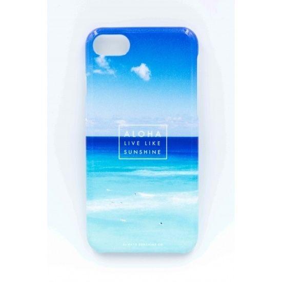 《ALOHA LIVE LIKE Collection》ハードケース-Blue Hawaii-