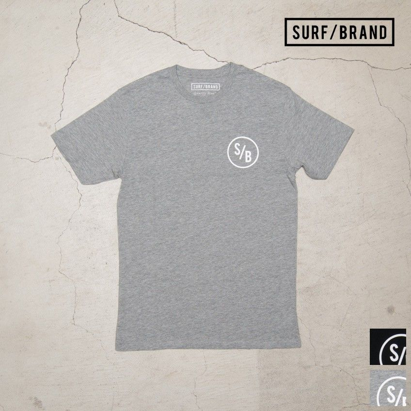 "[INS1059] SURF/BRAND ""TEAM""半袖Tシャツ"