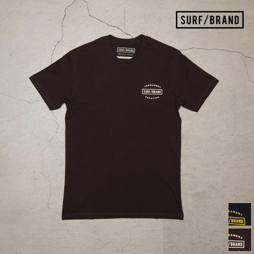 "[INS1060] SURF/BRAND ""VACAY""半袖Tシャツ"