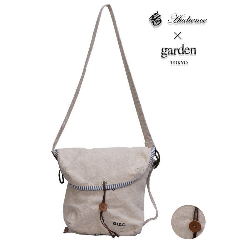 [AUD5046] Audience × garden アメリカ軍バンクポーチハンドメイドリメイクSmallショルダーバッグ