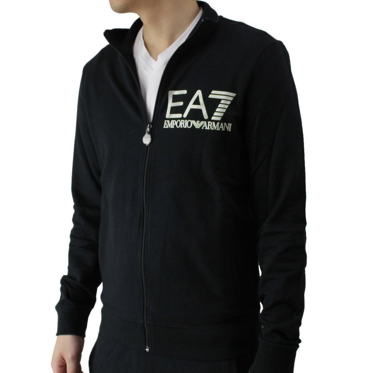 イーエーセブン (EA7) メンズスウェット276121 6P280 00020BLACK ブラックサイズ(#L)