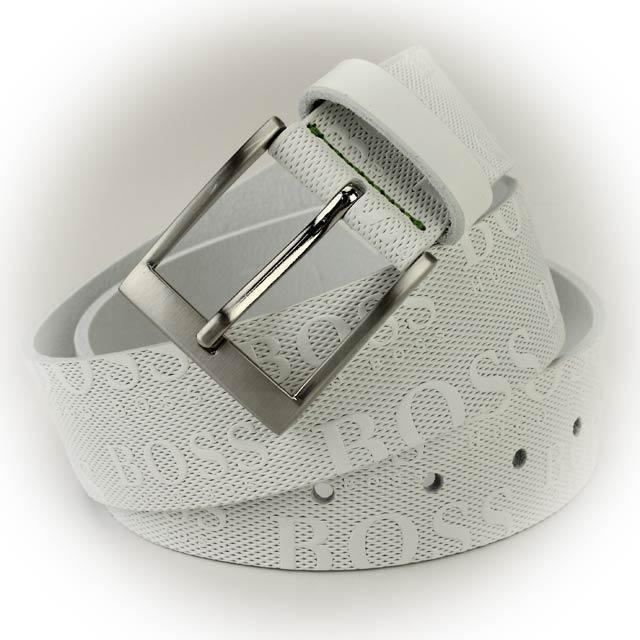 ヒューゴ・ボス (HUGO BOSS) メンズベルト50213547 100WHITE ホワイトサイズ(#85)