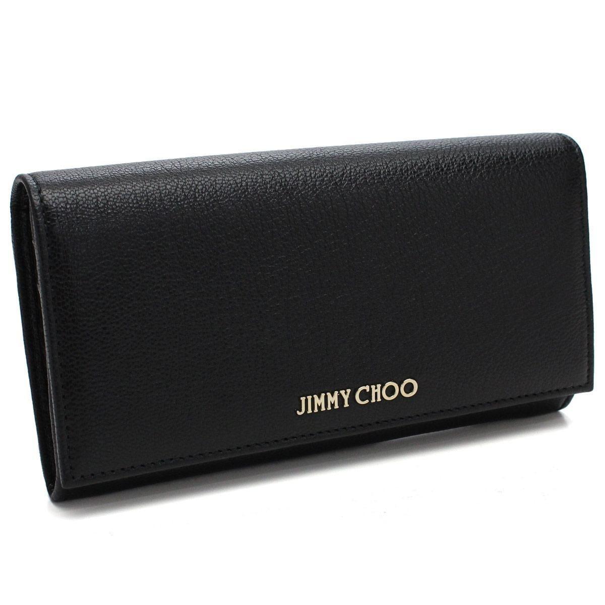 ジミーチュウ(JIMMY CHOO) 2つ折り長財布 小銭入れ付き
