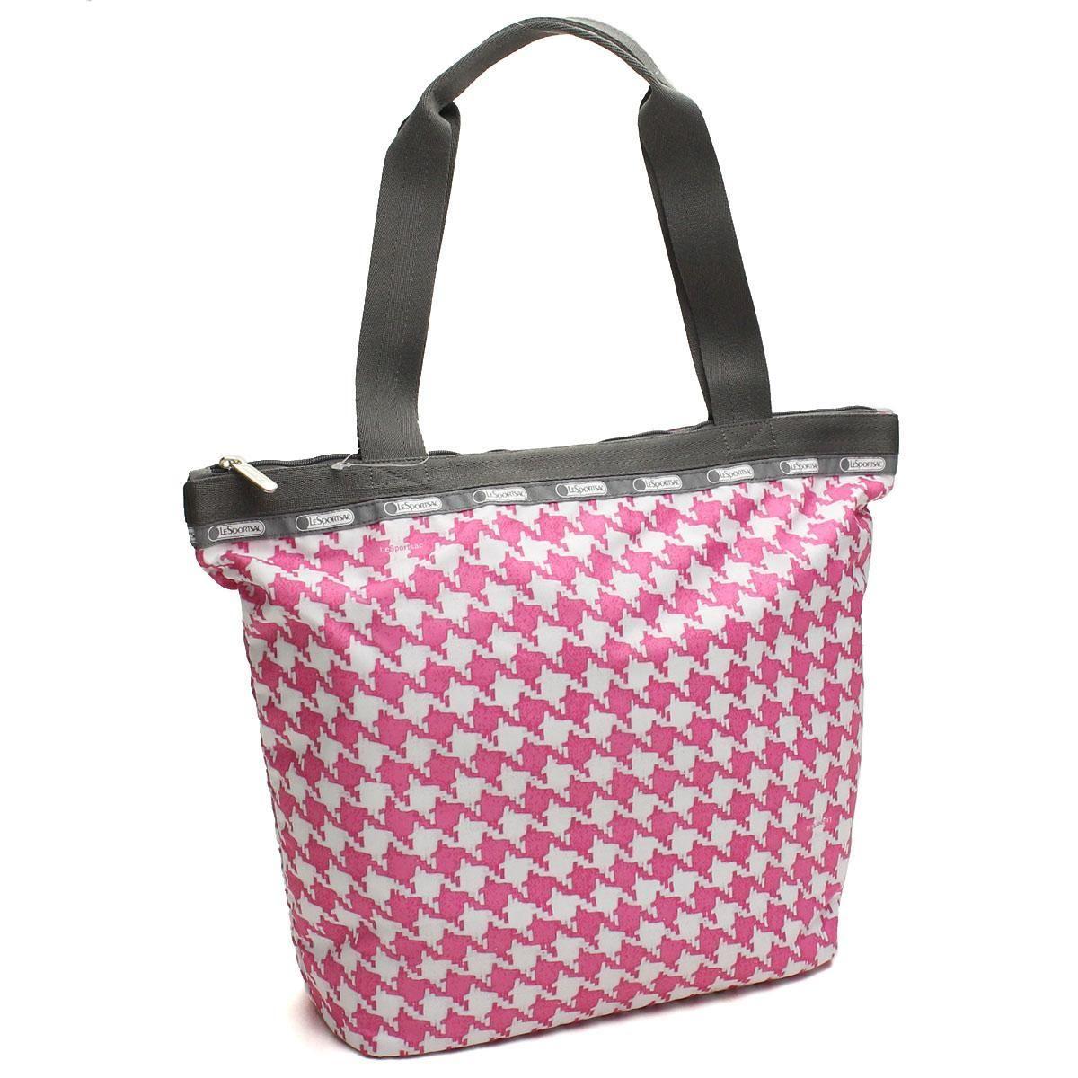 レスポートサック (Le Sport sac) トートバッグ3247 D597ホワイト系ピンク系