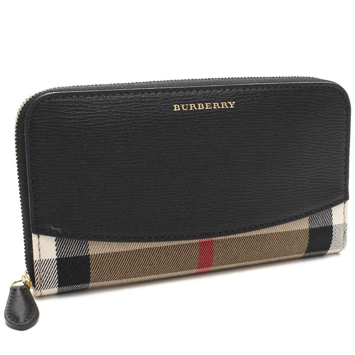 バーバリー (BURBERRY) 長財布 ラウンドファスナー3975334BLACK ブラックマルチカラー( 財布 )