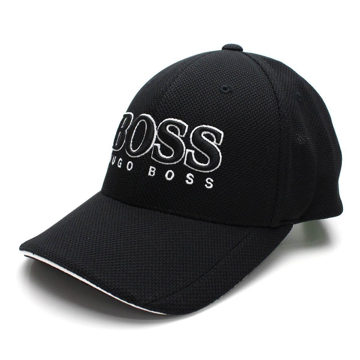 ヒューゴ・ボス (HUGO BOSS) CAP US キャップ メンズ 帽子 50251244 10165424 100 ブラック