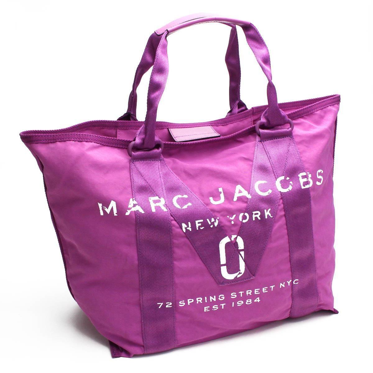 マーク・ジェイコブス (MARC JACOBS) new logo ニューロゴ トート トートバッグ M0011223 533 LILAC パープル系