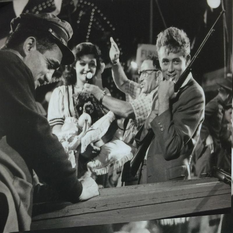 限定マット額装品/ジェームズ・ディーン/1956年/