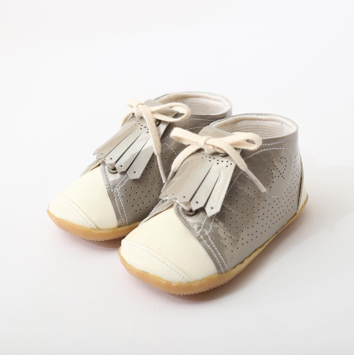 ベビーシューズ シルバー Baby Shoes Silver
