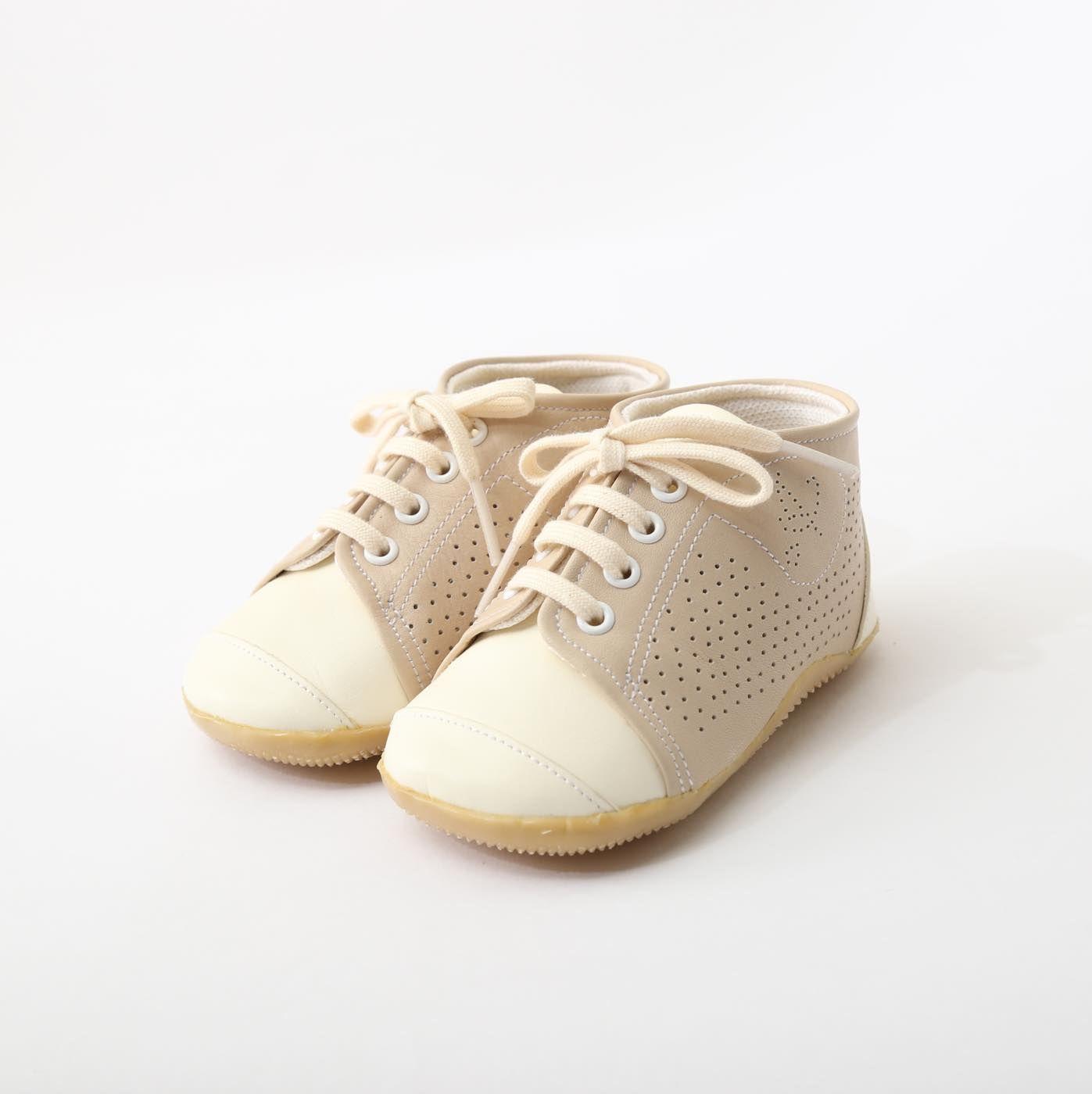 ベビーシューズ ベージュ Baby Shoes Beige