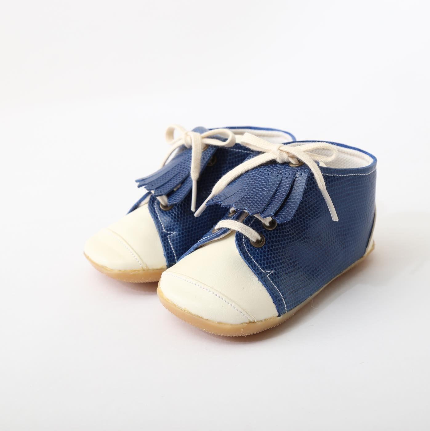 ベビーシューズ ブルー Baby Shoes Blue