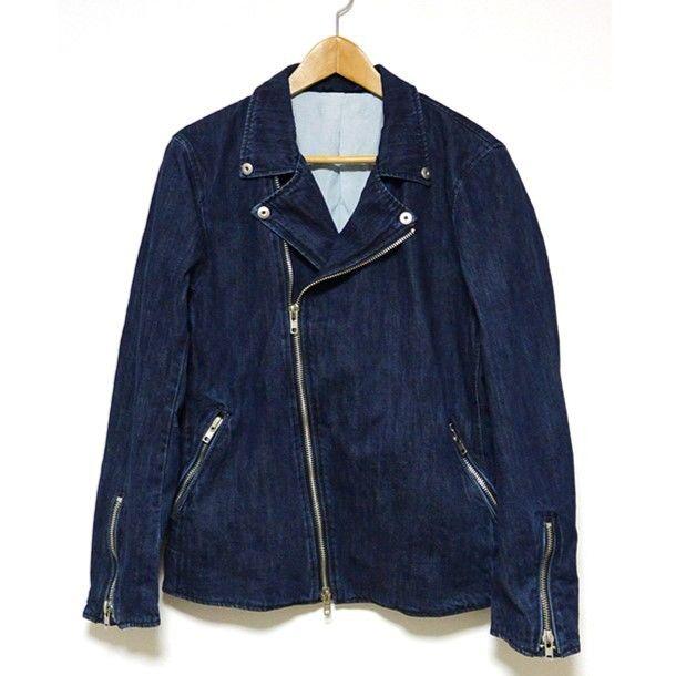 """18SS"" BlutenBlatt ブリューテンブラット Denim W Rider's Jacket デニムダブルライダースジャケット -D.Indigo-"