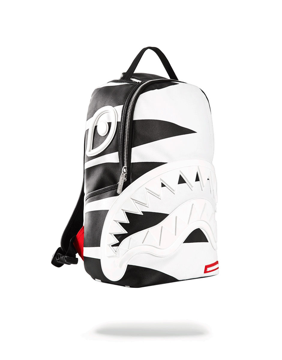 SPRAYGROUND / スプレイグラウンド PHANTOM WHITE RUBBER SHARK BAG  -White-