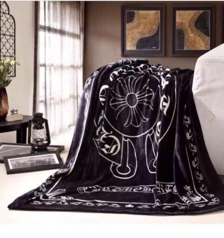 激安 人気美品 フランネル クロムハーツブランケット/毛布 デカサイズ