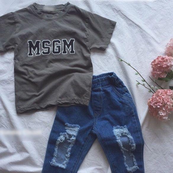 ★MSGM-Tシャツ★カーキ