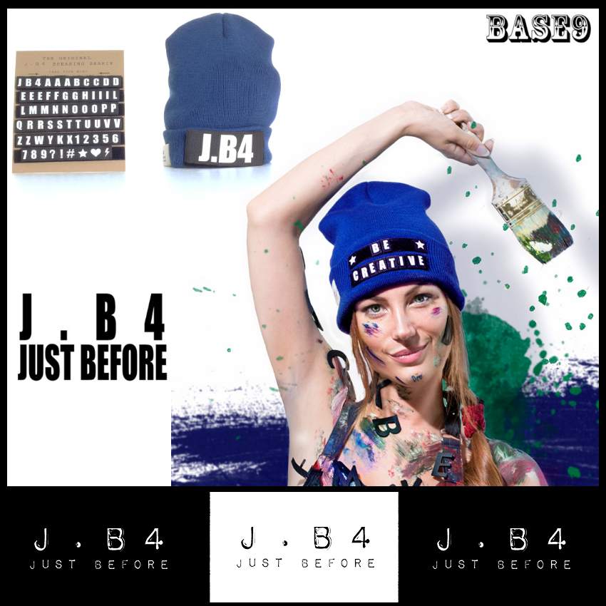 JB4!話題のMADE IN イタリア カスタムニットCAP