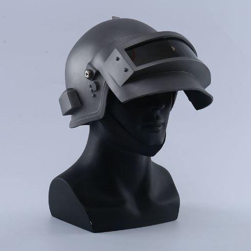 【送料無料!】PUBG レベル3 ヘルメット コスプレ 実用 防弾 フェイス マスク 装備 サバイバル サバゲー フィールド カバー【新品】