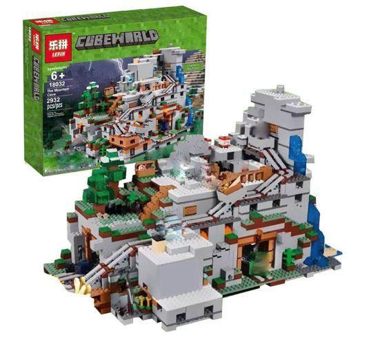 レゴ互換製品 LEPIN MINECRAFT マインクラフト 山の洞窟 The Mountain Cave マイクラシリーズ