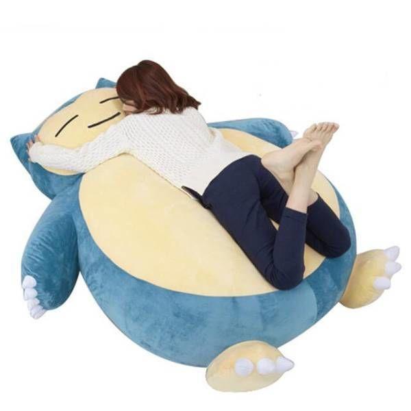 【送料無料!】Pokemon ポケモン ぬいぐるみ カビゴン風 巨大サイズ 150cm■B838【新品】