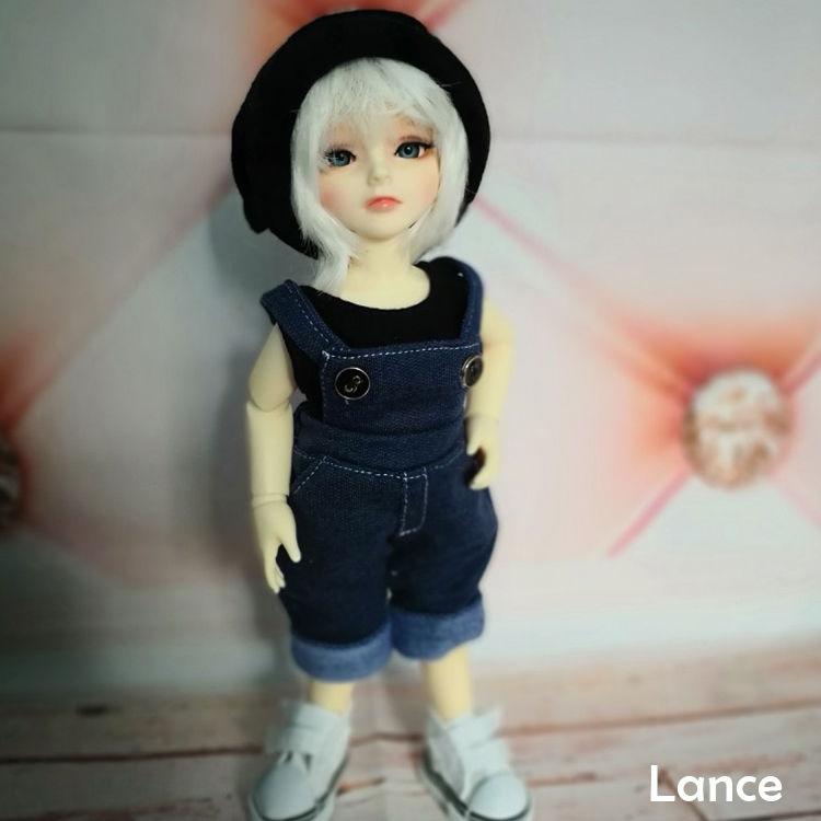 【送料無料!】球体関節人形 BJD 海外ドール1/6 子供 ランス【新品】