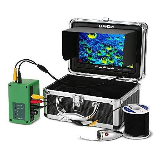 【送料無料!】LIXADA 釣りカメラ,魚群探知機,水中釣りカメラ,イプライン検査カメラ 防水 排水管 下水道検査カメラ 6LEDナイトビジョン パ工業用内視鏡検査【新品】