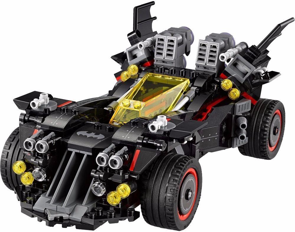 【送料無料!】LEPIN バットマン アルティメット・バットモービル 70917相当( 海外製品 )◆ レゴブロック 互換D【新品】