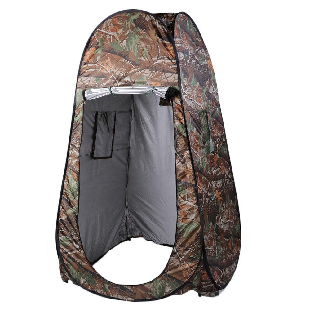 【送料無料!】Aotu更衣室やシャワーに便利な縦型テント 折りたたみ130 × 130 × 195センチ 2ウィンドウ【新品】