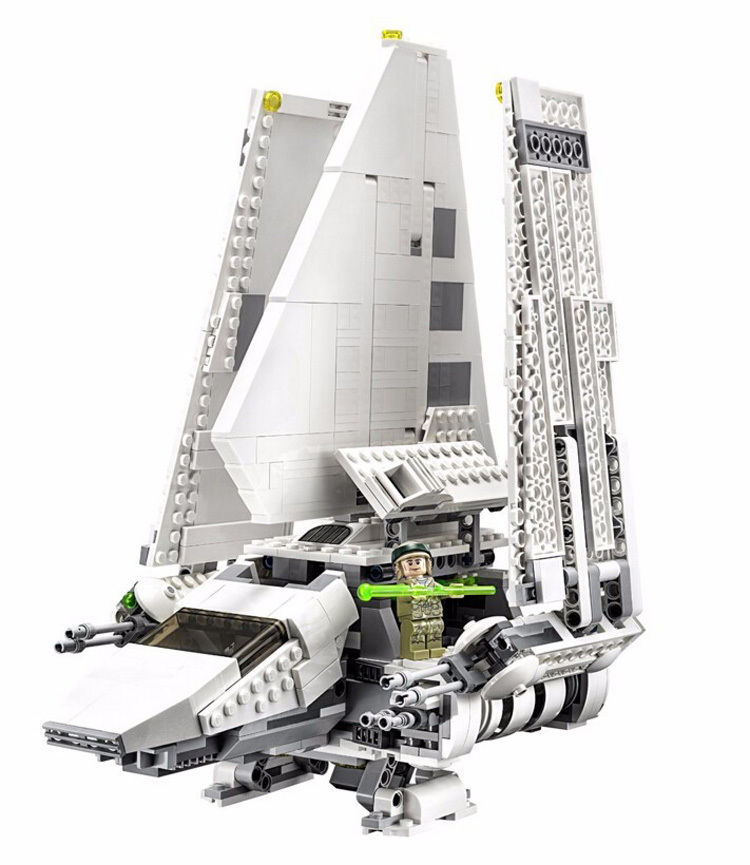 【送料無料!】LEGO(レゴ)互換 スターウォース?インヘ?リアルシャトルTydirium 2503ピース【新品】